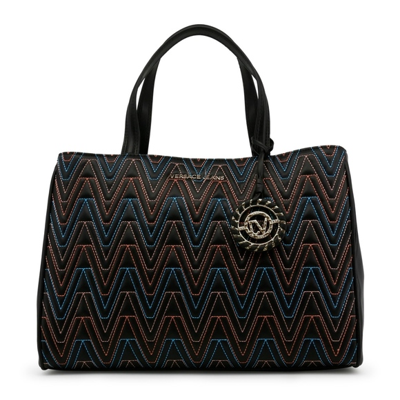 Versace Jeans Collection Bags   Versace Jeans Womens Black Tote ... 2a81d096f2